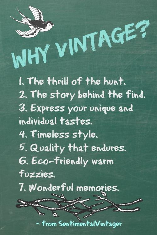 Why Vintage